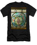 Stained Glass Skylight In Fordyce Bathhouse Men's T-Shirt (Athletic Fit)