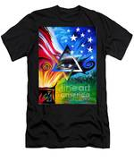 Star Of David. Symbol Of Immortal Nation Men's T-Shirt (Athletic Fit)