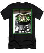 Starbucks Logo Men's T-Shirt (Athletic Fit)
