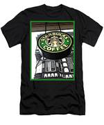 Starbucks Logo Men's T-Shirt (Athletic Fit)