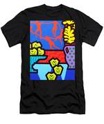 Still Life With Matisse Men's T-Shirt (Athletic Fit)