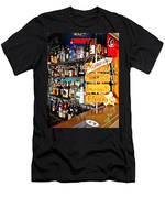 Stocked Bar At Jax Men's T-Shirt (Athletic Fit)