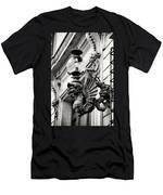 Street Art Roman Style By Zina Zinchik Men's T-Shirt (Athletic Fit)