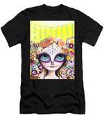 Sugar Skull Princess Men's T-Shirt (Athletic Fit)