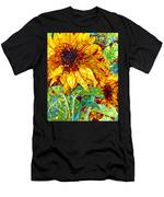 Summer In The Garden Men's T-Shirt (Athletic Fit)