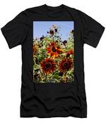Sunflower Layers Men's T-Shirt (Athletic Fit)
