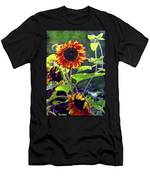 Sunflowers In The Park Men's T-Shirt (Athletic Fit)
