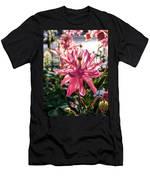Sunlit Fancy Pink Columbine Men's T-Shirt (Athletic Fit)