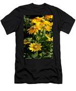 Sunshine Flower Men's T-Shirt (Athletic Fit)