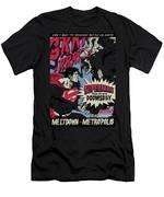 Superman - Meltdown Men's T-Shirt (Athletic Fit)