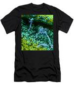 Surface Of Leaf With Fungal Infections Men's T-Shirt (Athletic Fit)