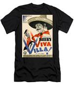 Swedish Poster #1   Viva Villa 1934-2008 Men's T-Shirt (Athletic Fit)