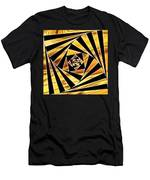 Swirling Spirals Men's T-Shirt (Athletic Fit)