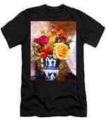 Textured Bouquet Men's T-Shirt (Athletic Fit)