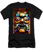 Thai Buddhist Mask Men's T-Shirt (Athletic Fit)