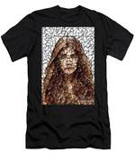 The Girl With No Face Men's T-Shirt (Athletic Fit)