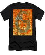 The Letter G With Lichens Men's T-Shirt (Athletic Fit)