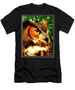 The Owl's Eye Men's T-Shirt (Athletic Fit)