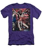 The Red Christ Men's T-Shirt (Athletic Fit)