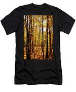 The Trees Through The Forest Men's T-Shirt (Athletic Fit)
