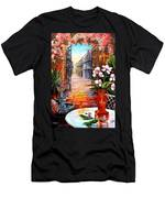 The View From A Courtyard Men's T-Shirt (Athletic Fit)