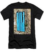 The Worn Blue Shutter Men's T-Shirt (Athletic Fit)
