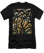 Through The Trees Men's T-Shirt (Athletic Fit)