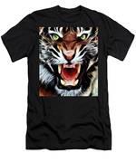 Tiger Watercolour Men's T-Shirt (Athletic Fit)