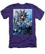 Times Square 2 Men's T-Shirt (Athletic Fit)