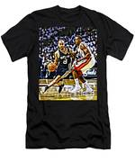 Tony Parker Painting Men's T-Shirt (Athletic Fit)
