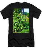 Towering Sunflowers Men's T-Shirt (Athletic Fit)