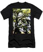 Tree In Blue Ridge Mountains Men's T-Shirt (Athletic Fit)