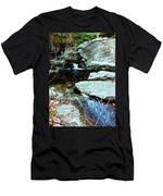 Triple Waterfall Men's T-Shirt (Athletic Fit)