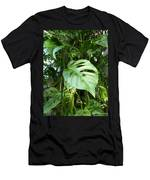 Tropical Green Foliage Men's T-Shirt (Athletic Fit)