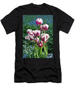 Tulips Among The Forget Me Nots Men's T-Shirt (Athletic Fit)