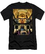 Union Station Lobby Larger Men's T-Shirt (Athletic Fit)