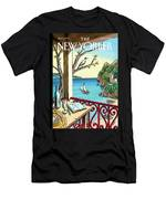 New Yorker April 18th, 2011 Men's T-Shirt (Athletic Fit)