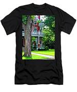 Victorian Home Painted Version Men's T-Shirt (Athletic Fit)