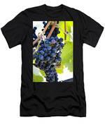 Vineyard Grapes Men's T-Shirt (Athletic Fit)