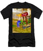 Waiting For Mail Men's T-Shirt (Athletic Fit)