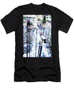 When The Nature Is Deep And Waterproof  Men's T-Shirt (Athletic Fit)