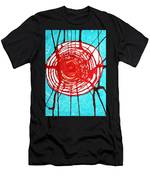 Web Of Life Original Painting Men's T-Shirt (Athletic Fit)