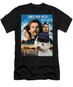 West Highland White Terrier Art Canvas Print - Dances With Wolves Movie Poster Men's T-Shirt (Athletic Fit)