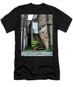 What's Behind The White Door Men's T-Shirt (Athletic Fit)
