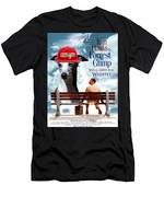Whippet Art - Forrest Gump Movie Poster Men's T-Shirt (Athletic Fit)
