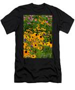 Wildflower Gold Men's T-Shirt (Athletic Fit)