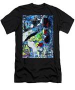 Windows And Waterfalls Men's T-Shirt (Athletic Fit)