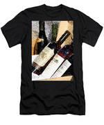 Wine Bottles Men's T-Shirt (Athletic Fit)