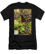 Wisteria On A Home In Zellenberg France 3 Men's T-Shirt (Athletic Fit)