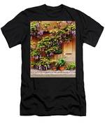 Wisteria On Home In Zellenberg 4 Men's T-Shirt (Athletic Fit)